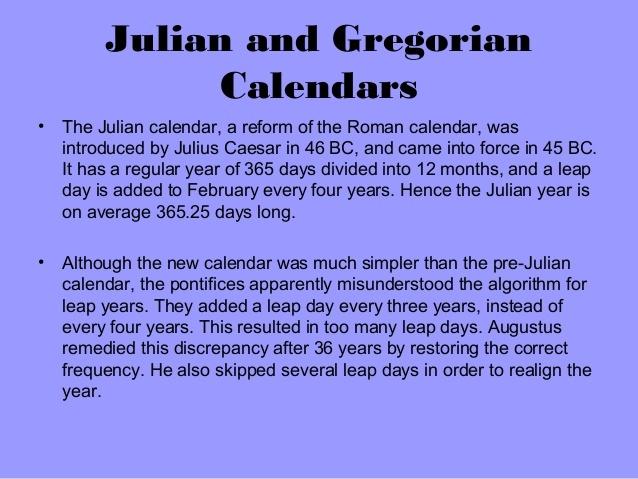 Sabbath day calendar