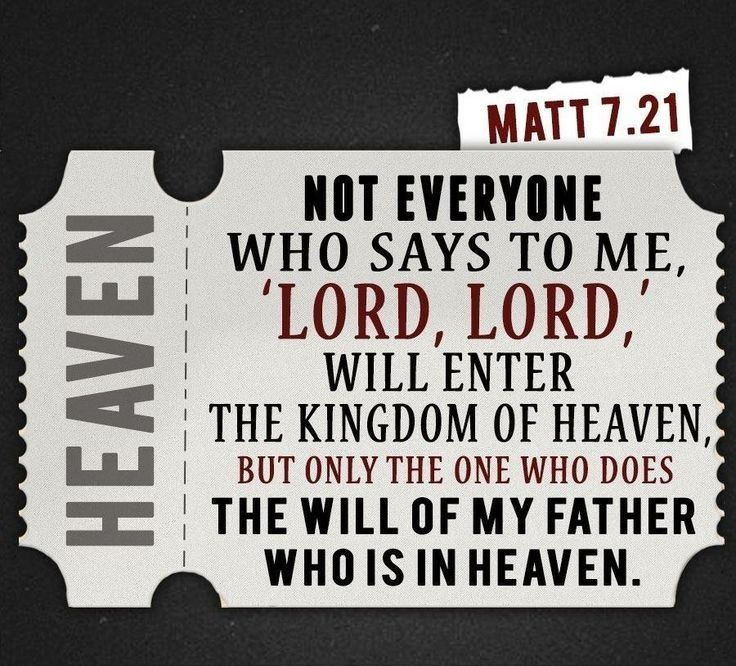 Matthew 7:21 tells you the importance of Jesus Christ name