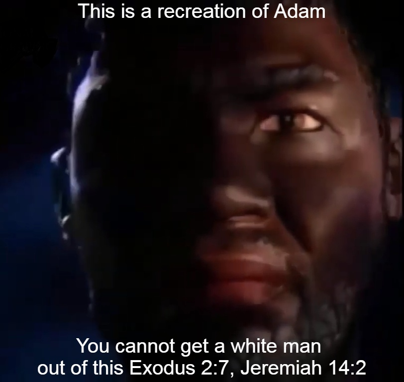 Adam was a black man
