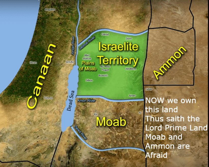 Ruth is an Israelite the war proves it map 5 after the israelite war
