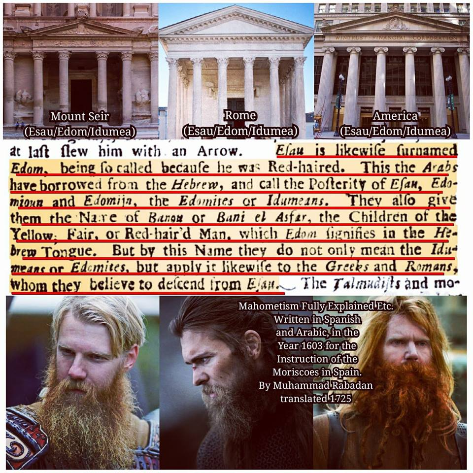 Greeks and Romans are Edomites and Japheth Predator Priests Exposed
