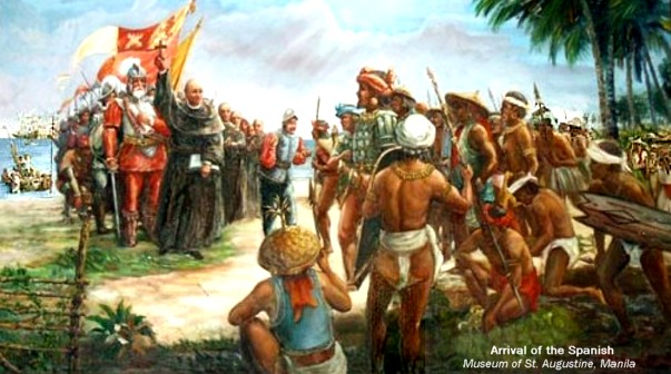 The Spaniards landed in samar and enslaved the native indos repent