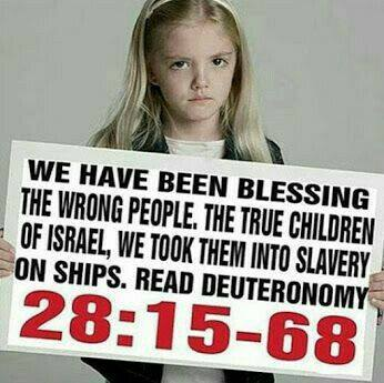Black Hebrew Israelites went into slavery on ships the Jewish didnt